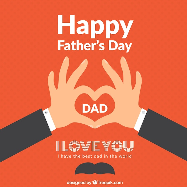 Happy fathers day vector free download - I love you daddy download ...