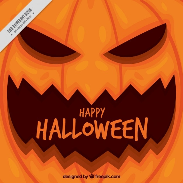 happy halloween background with creepy pumpkin 23 2147571139