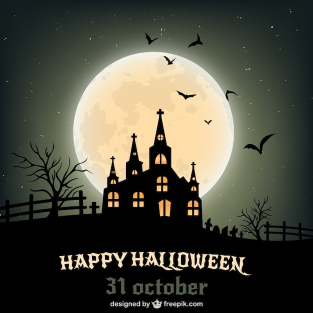 happy halloween poster free vector - Download Halloween Pictures Free