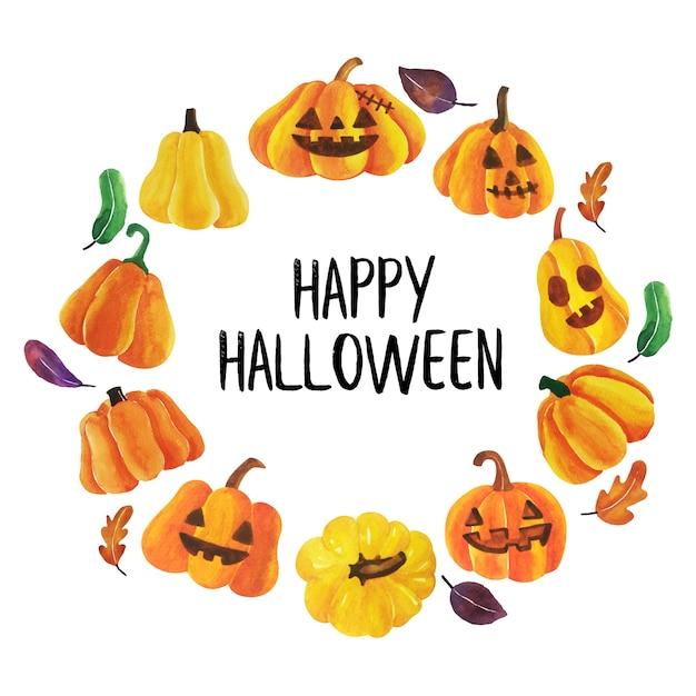 Happy halloween vector. Premium Vector