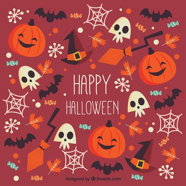 Free Vector | Happy hallowen