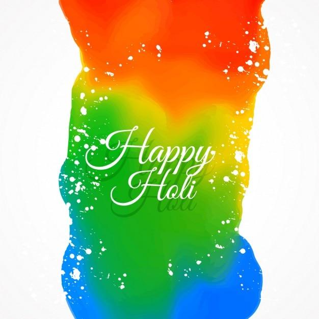 Happy Holi Colors Vector