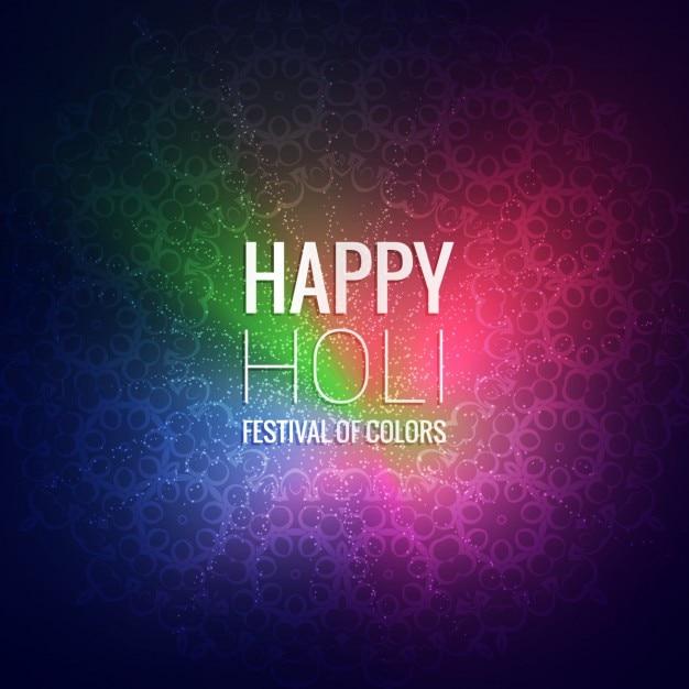 Счастливый холи фестиваль приветствие Бесплатные векторы
