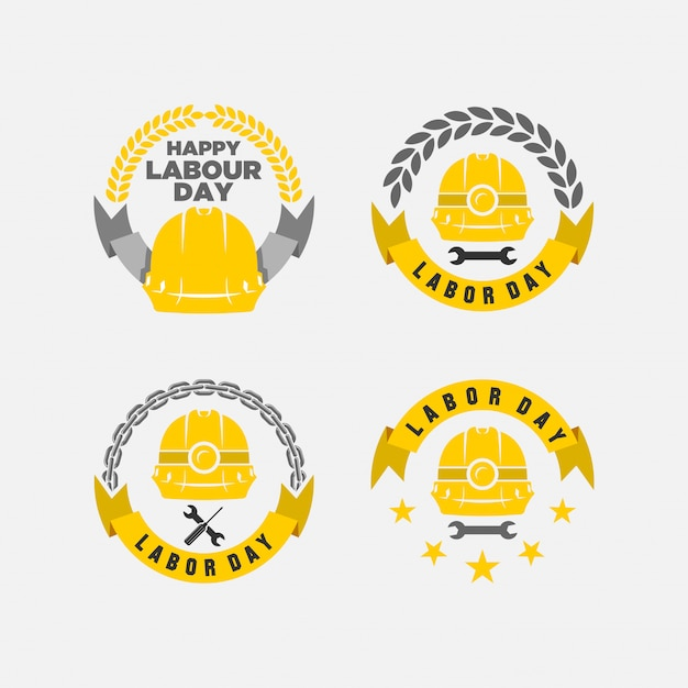 Happy labor day vector illustration Premium Vector