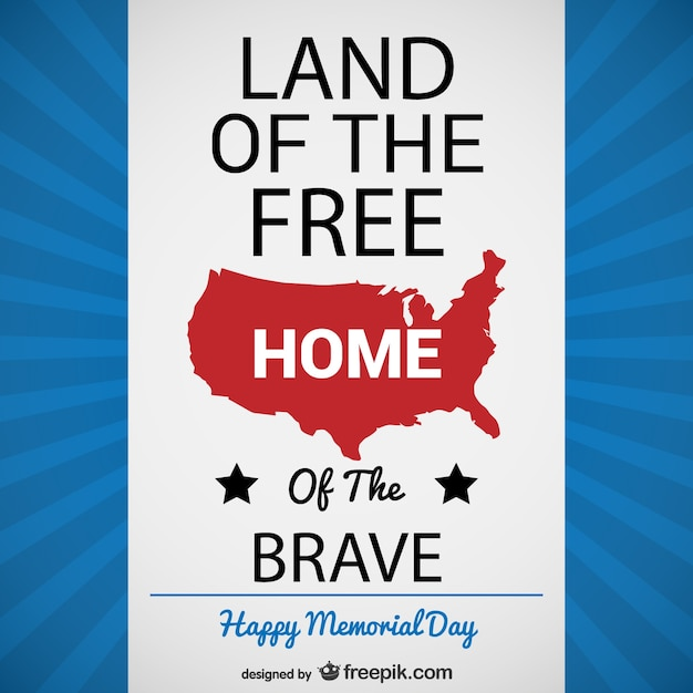 Happy Memorial Day poster