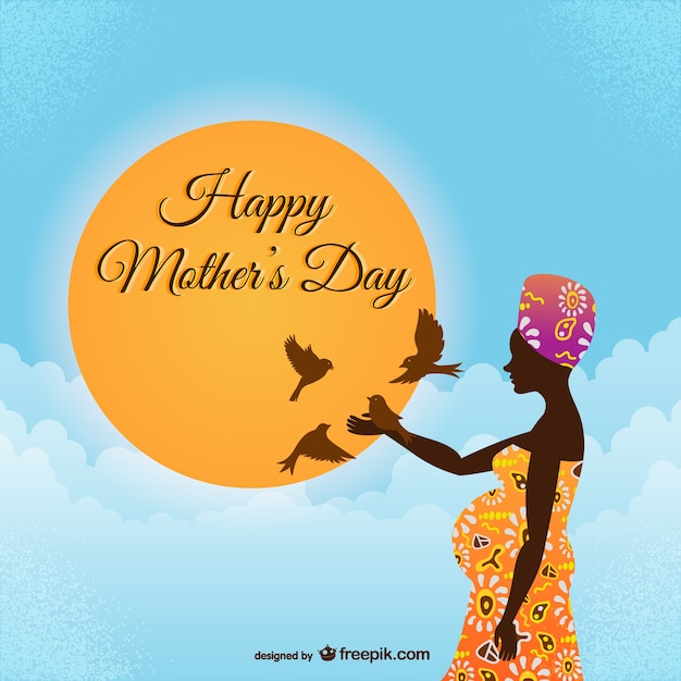 Happy mother\'s day african style
