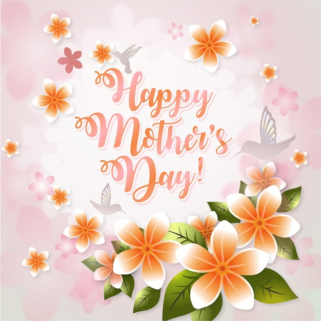 Happy mother\'s day background desgin