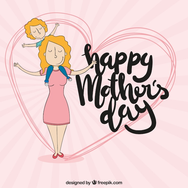 Happy mother\'s day background