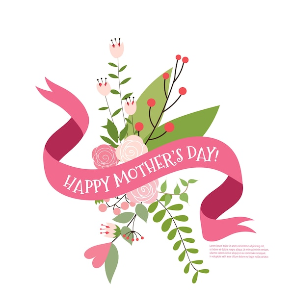 Happy mother\'s day bouquet