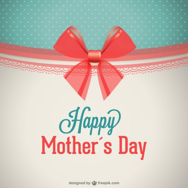Happy mother's day design Free Vector