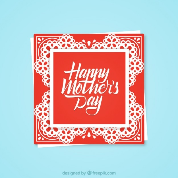 Happy mother\'s day greeting card