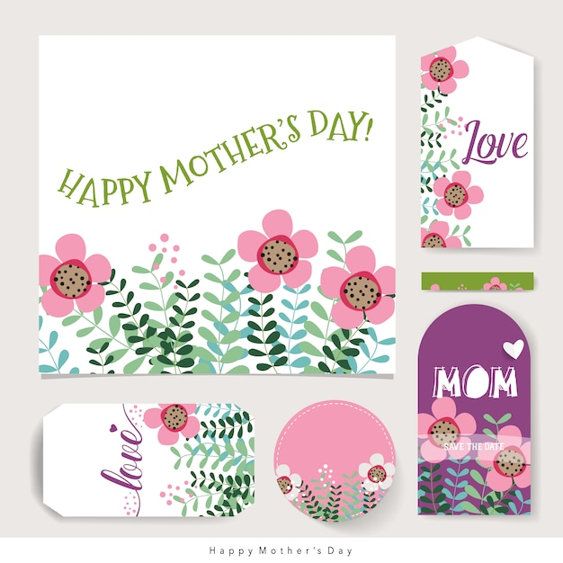 Happy mother\'s day stationery
