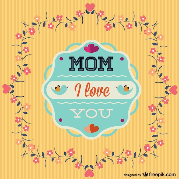 happy mother s day template freebie vector free download