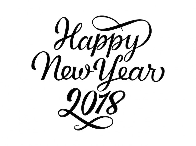 Happy New Year Font 2