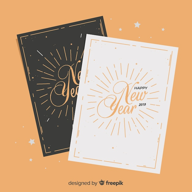 Happy new year greeting cards 2019 free download techicy.