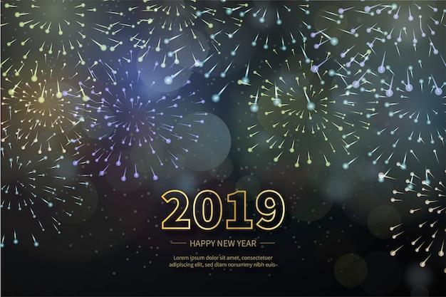 Happy New Year Fireworks 93