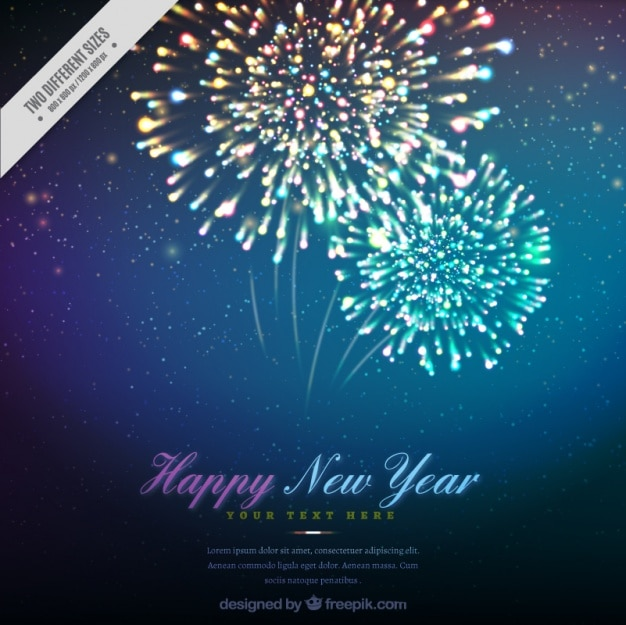 happy new year background with beautiful fireworks stock images page everypixel