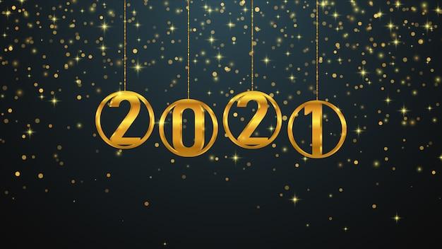 Happy new year background. Premium Vector