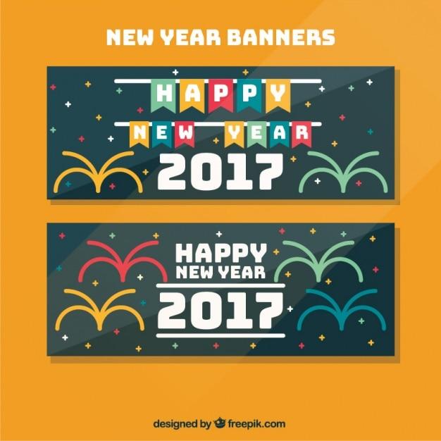 Happy New Year Flat Design 4