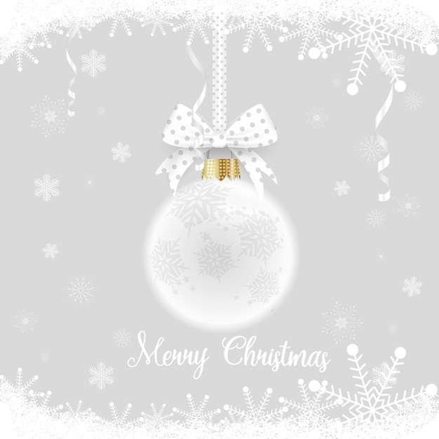 Happy new year and merry christmas Premium Vector