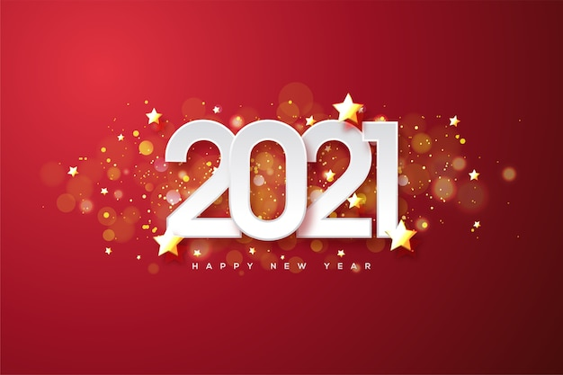 Happy new year Premium Vector