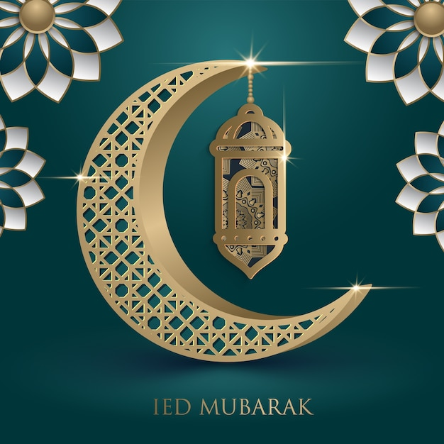 Happy of eid eid mubarak greeting card in arabic calligraphy vector happy of eid eid mubarak greeting card in arabic calligraphy premium vector m4hsunfo