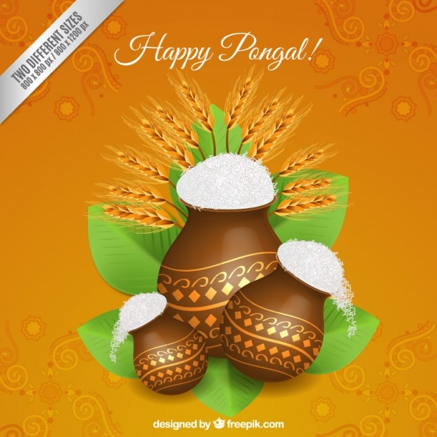 Happy pongal background vector free download happy pongal background free vector m4hsunfo