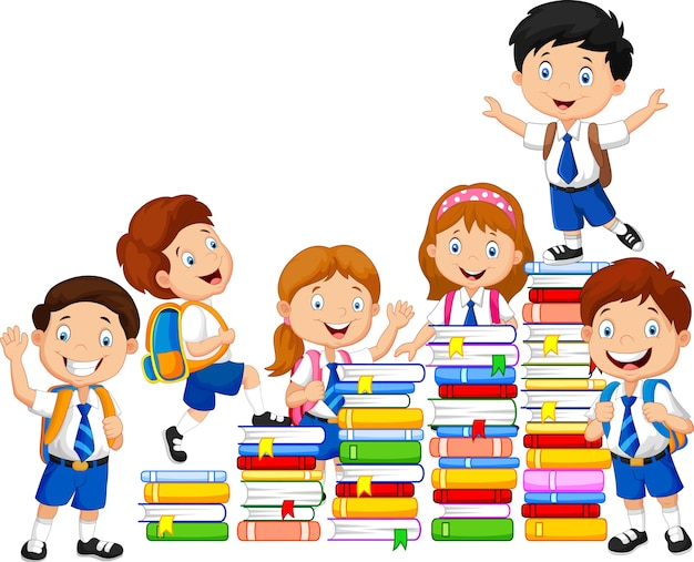 Download Book Stair Cartoon Pictures
