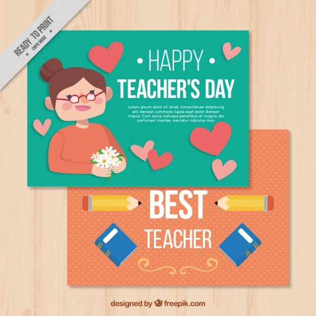 Happy teachers day greeting card vector free download happy teachers day greeting card free vector m4hsunfo