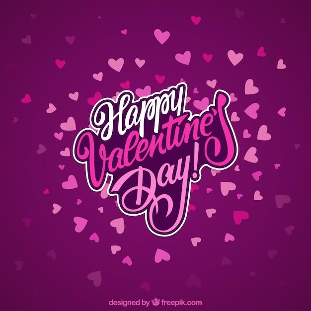 Happy valentine day background Vector | Free Download
