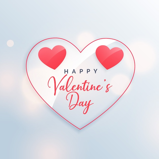 happy valentine's day beautiful poster design vector | free download, Ideas