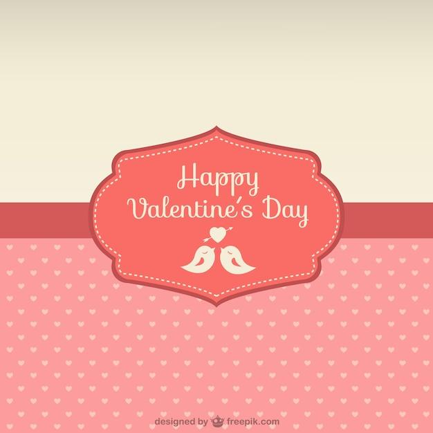 happy valentines day card free vector - Happy Valentines Day Cards Free
