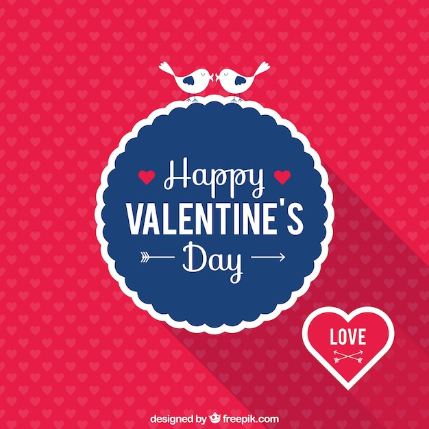 Happy Valentine S Day Card Vector Free Download