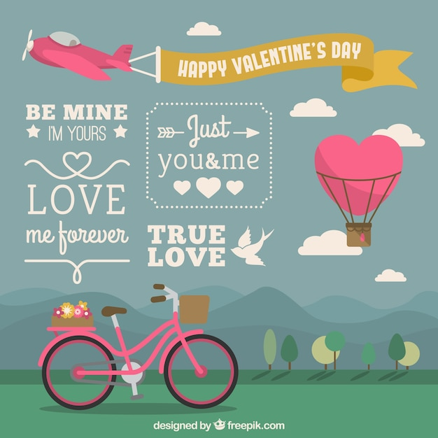 happy valentine's day cover vector | free download, Ideas