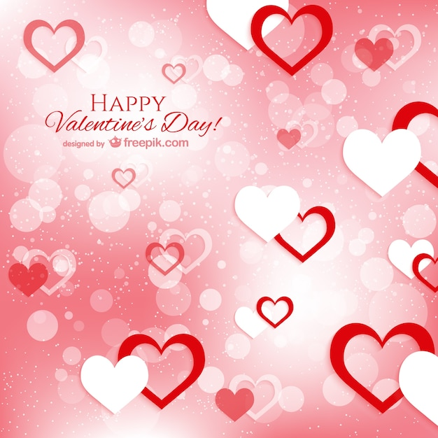 Happy Valentine's day greeting Vector | Free Download
