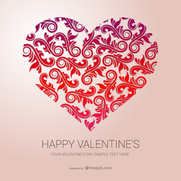 Happy Valentine\'s template