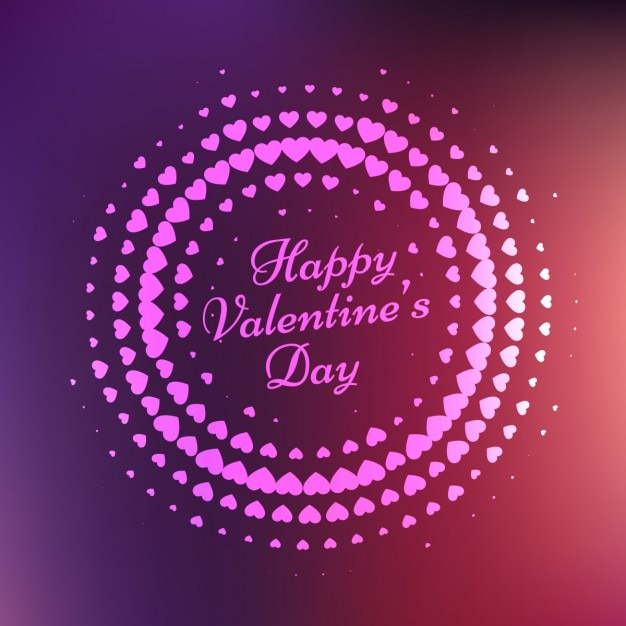 Happy valentines day card Vector | Free Download