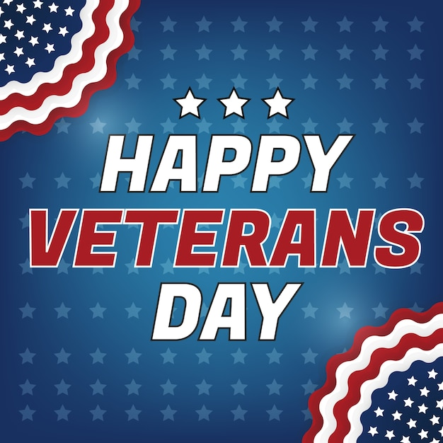 Happy veterans day greeting card vector premium download happy veterans day greeting card premium vector m4hsunfo