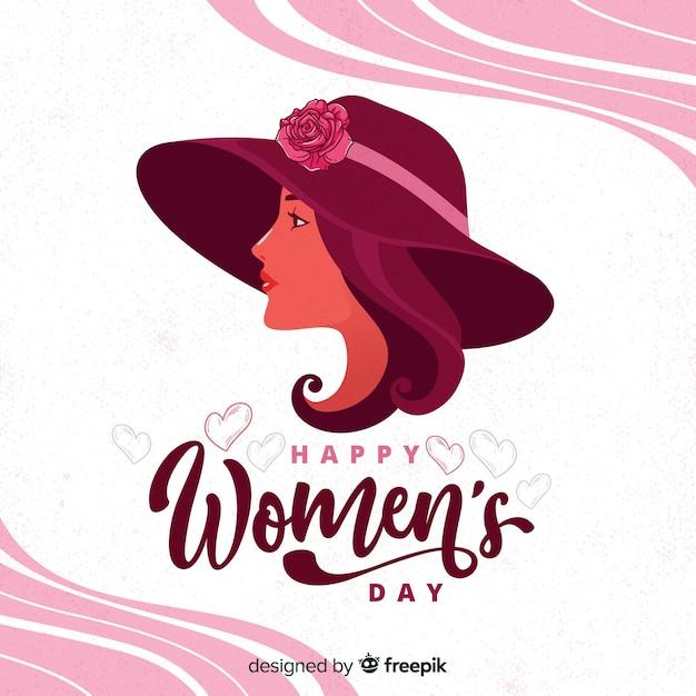 Happy women's day Premium Vector