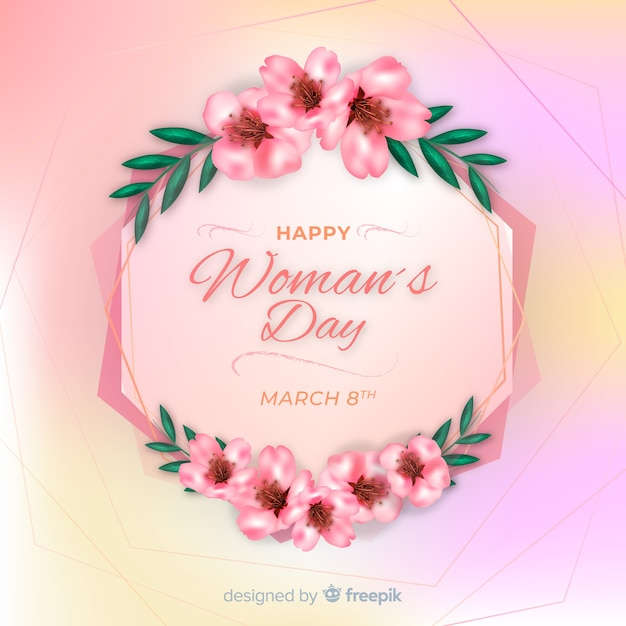 Happy Womens Day Vector Free Download