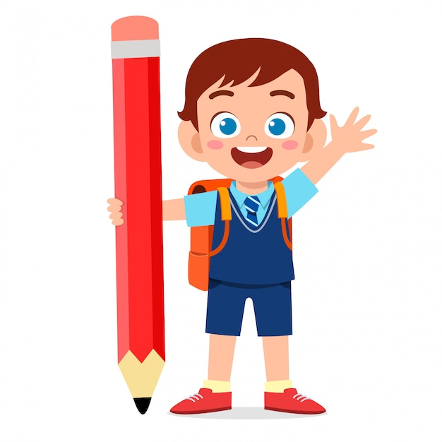 boy playing Little boy clipart chinese boy pencil and in
