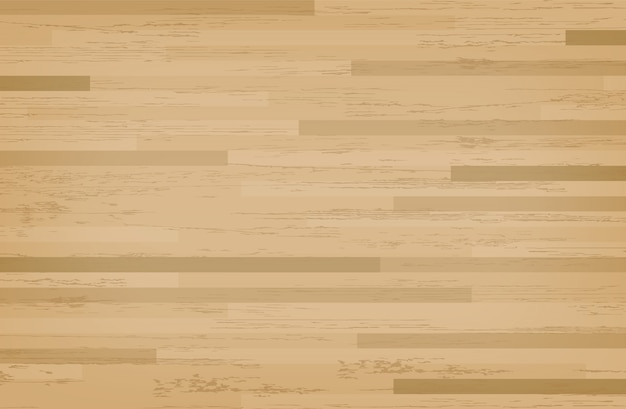 Hardwood Maple Basketball Court Floor Premium Vector