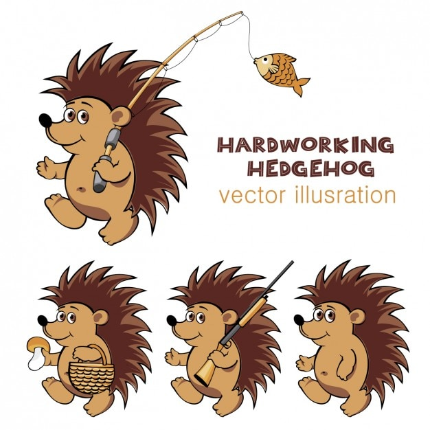 Hedgehog Vectors, Photos and PSD files | Free Download