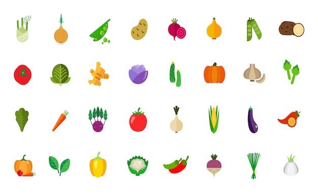Harvest icon set Free Vector