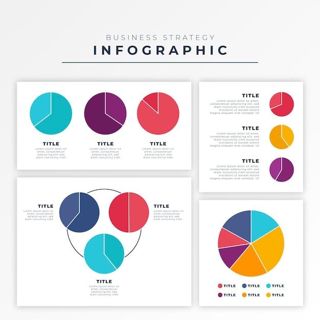 평면 디자인에 하비 공 다이어그램 infographic 무료 벡터