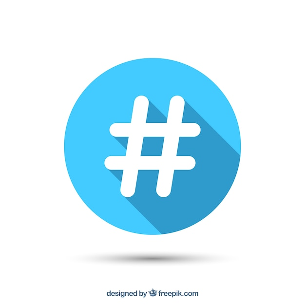Hashtag background design vector free download for Hashtag architecture