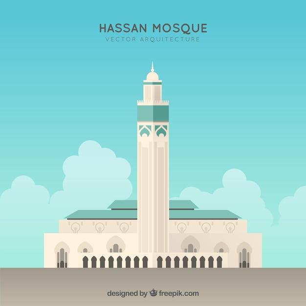 Hassan Mosque Facade