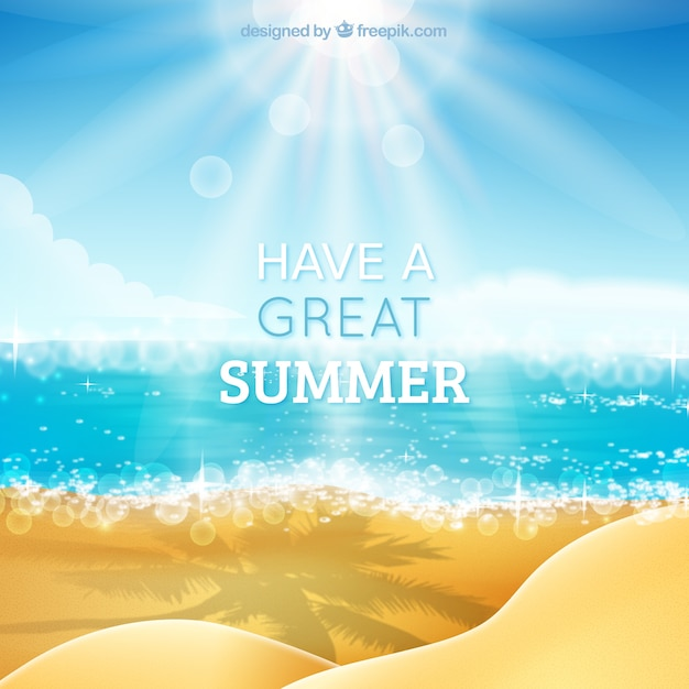 Have a great summer background Vector | Free Download