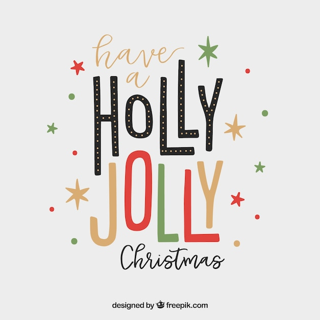 have a holly jolly christmas free vector - Have A Holly Jolly Christmas
