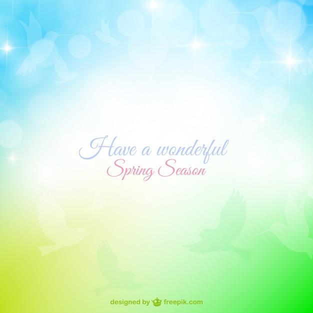 Have a wonderful spring season